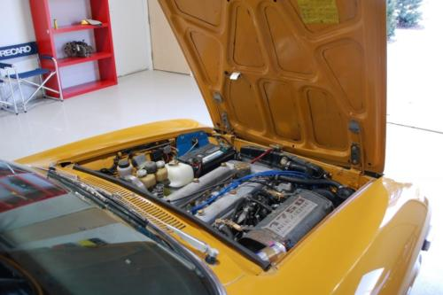 1971 Alfa Romeo GTV 1750 - Glass out repaint in Giallo Orchre SFG005