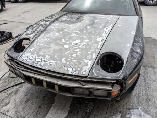 1984 Porsche 928S SFG008