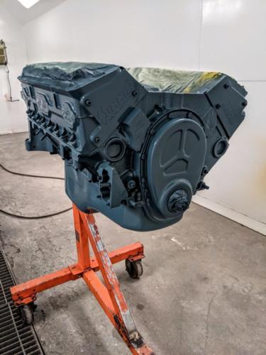 1 Pint - POR 15 - Chevy Blue Engine Enamel EEPCB 42078