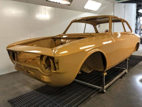 1967 Alfa Romeo Guilia Sprint GT Veloce Body Restoration SFG004